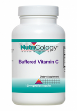 Load image into Gallery viewer, Nutricology - Buffered Vitamin C 120 Vegetarian Capsules with Calcium and Magnesium