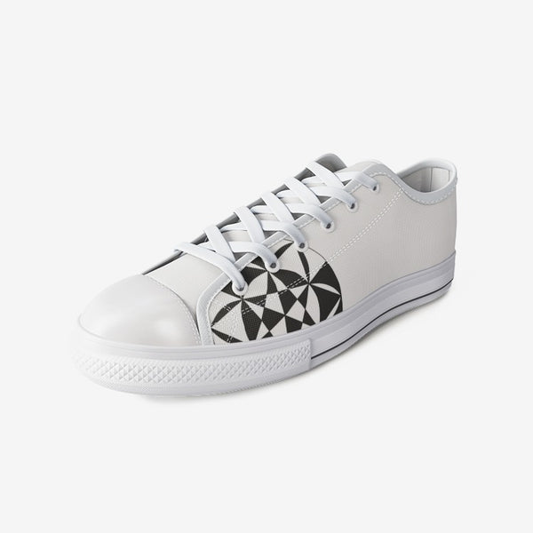 Classy Pattern - Unisex Low Top Canvas Shoes