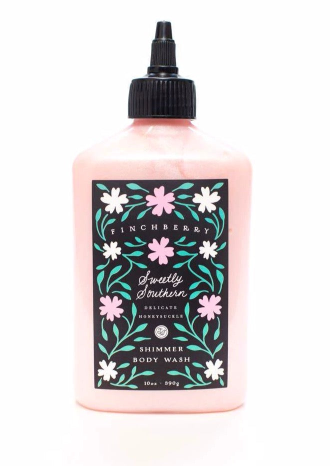Finchberry Shimmer Body Wash - Sweetly Southern