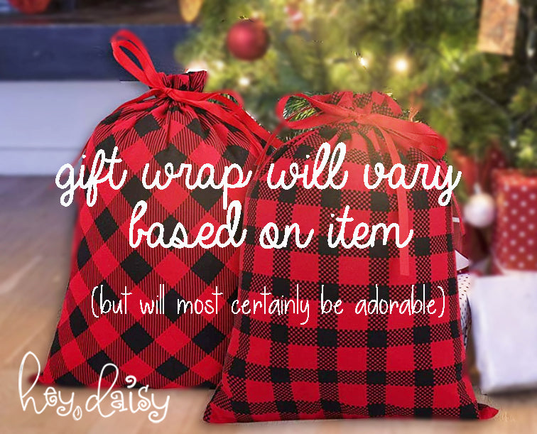 Gift Wrap - Shipping Orders