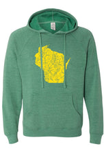Load image into Gallery viewer, Wisconsin - Green Hoodie