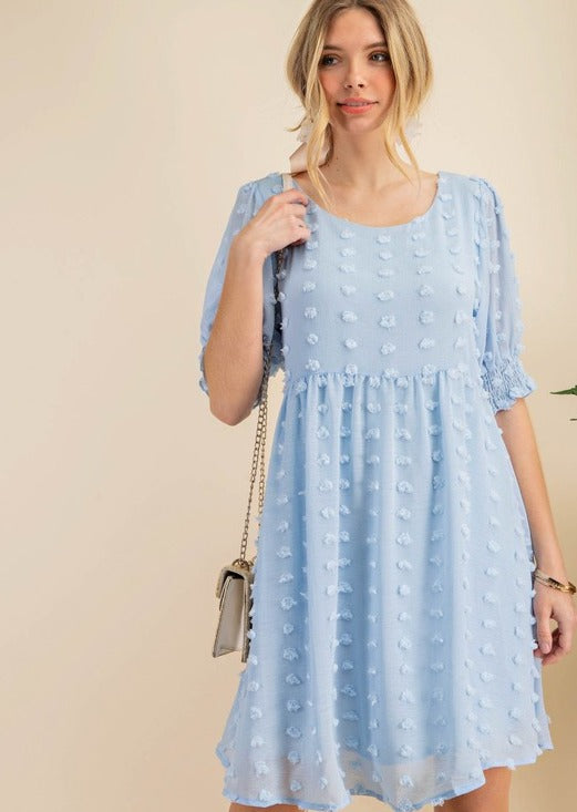 Blue Dots Dress