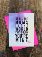Mother's Day Enclosure Card