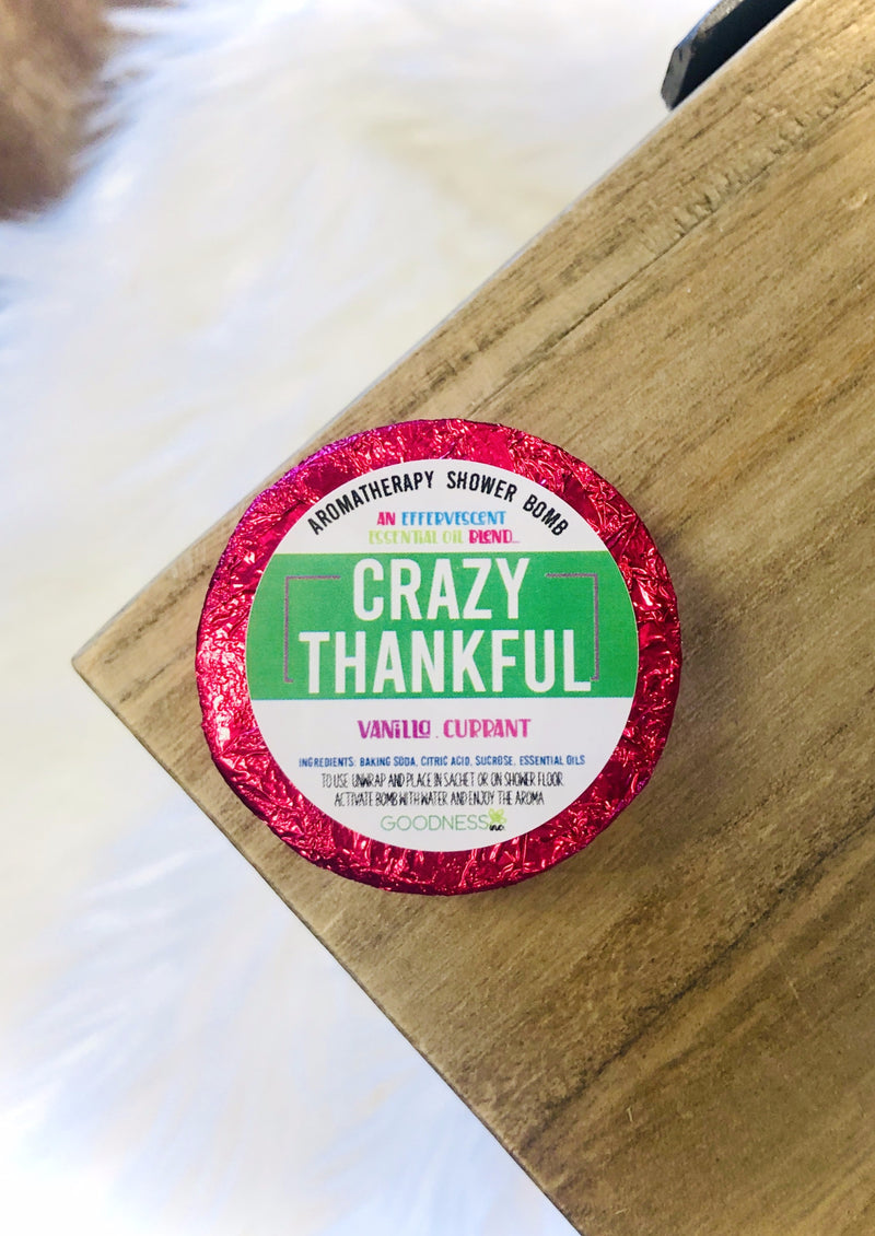 Shower Bomb - Crazy Thankful
