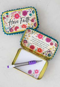 Prayer box-Have Faith