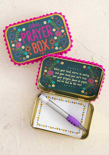 Prayer Box Blue
