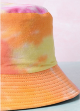 Load image into Gallery viewer, Tie Dye Bucket Hat