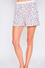 Load image into Gallery viewer, French Terry Leopard Shorts
