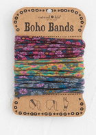 Boho Bands - Purple/Mustard/Charcoal