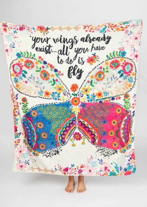 Tapestry Blanket - Your Wings Exist