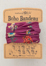 Load image into Gallery viewer, Boho bandeau-berry stems