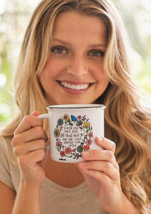 Camp Mug - Wise Girl