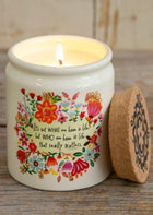 Who We Have In Life Candle
