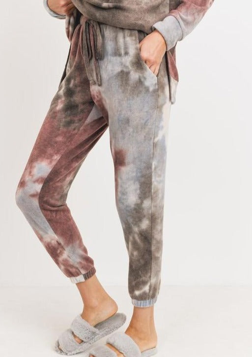 Tie Dye Brushed Jogger