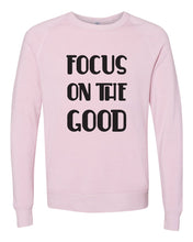 Load image into Gallery viewer, Focus on the Good - Pink Crewneck