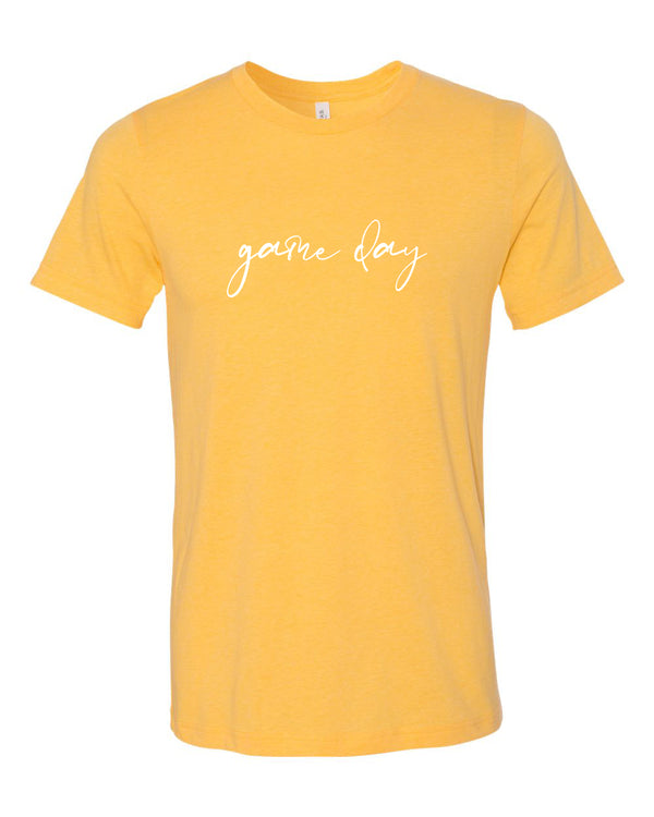Game Day - Gold Short Sleeve Tee
