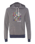 Do What You Love - Grey/Navy Hoodie