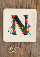 Initial Trinket Dish- Various letters available