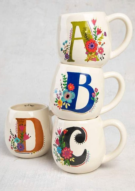 Initial Mug- Various letters available