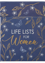 Load image into Gallery viewer, Box of Blessings - Life Lists for Women