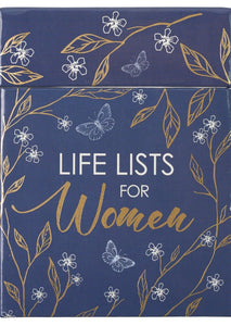 Box of Blessings - Life Lists for Women