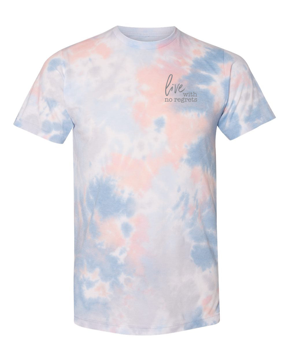 Tie Dye Tee - No Regrets