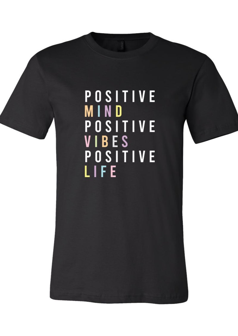 Positive Vibes - SS Tee