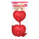 REUSABLE RED HEART NIPPLE PASTIES