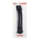 GLASS ROMANCE CURVE DILDO BLACK