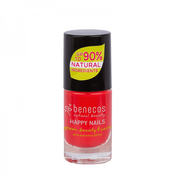 Vernis à ongle rouge flashy (hot summer)