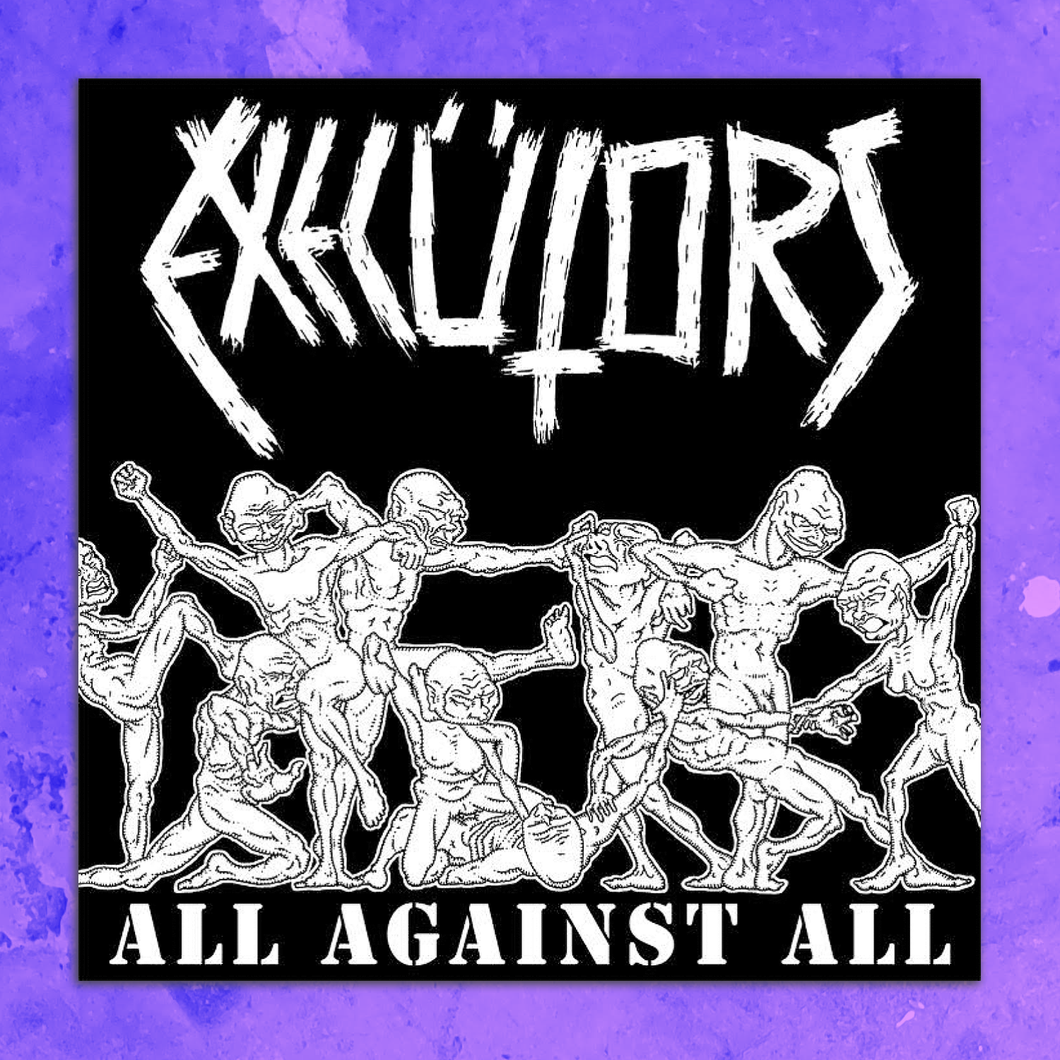 EXECUTORS - ALL AGAINST ALL LP VINYL