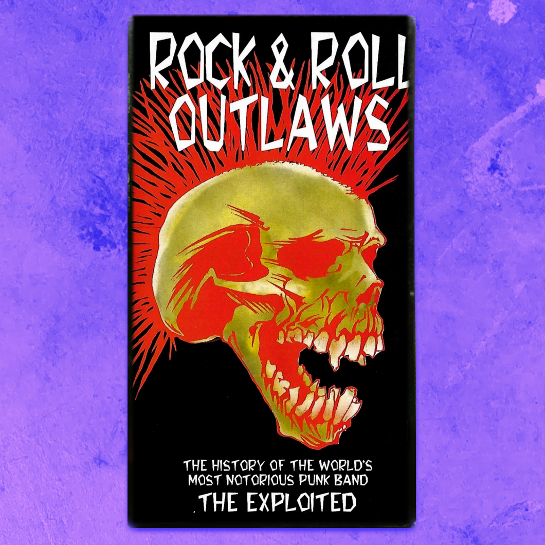 THE EXPLOITED - ROCK & ROLL OUTLAWS VHS
