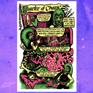 QUARTER OF CHAOS POSTER
