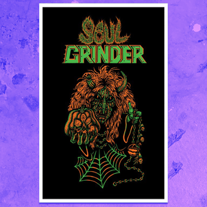 SOUL GRINDER CHAOS WITCH POSTER