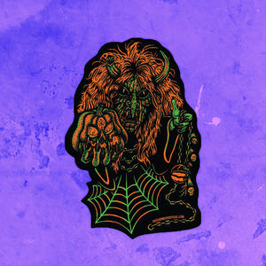SOUL GRINDER CHAOS WITCH VINYL STICKER