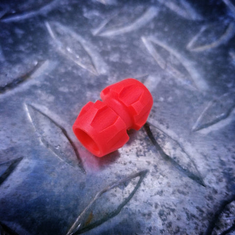 Rogue Lanyard Bead -- Fire TurboGlow (Red/Yellow)