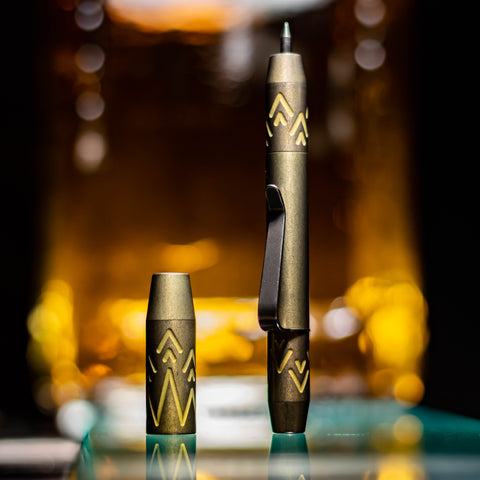 TechLiner Crown Super Shorty (SS) -- Titanium (Baroque Gold)