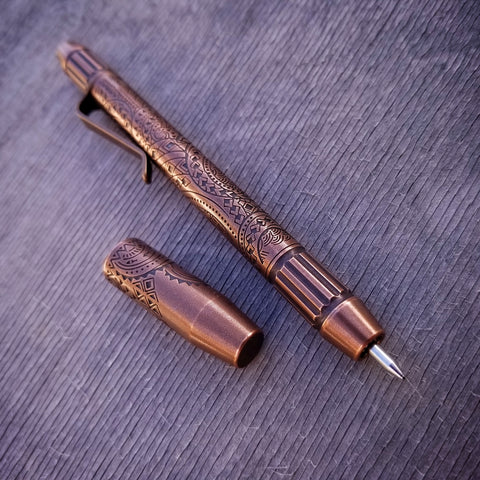 TechLiner Fluted Shorty -- Hawaiian Etch Copper (Acid Washed)
