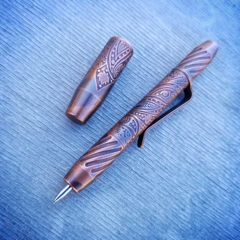 TechLiner Twist Super Shorty (SS) -- Paisley Etch Copper (Antique)