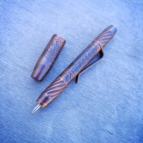 TechLiner Twist Super Shorty -- Lazar Etch Copper (Antique)