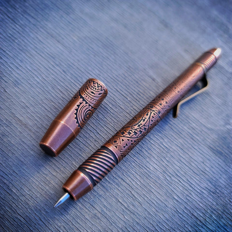 TechLiner Helix Shorty -- Hawaiian Etch Copper (Tumbled)