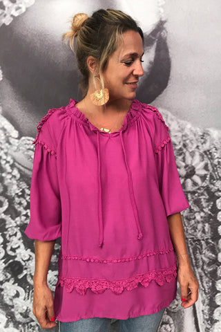 "Blusa ""Queen in Rose"""