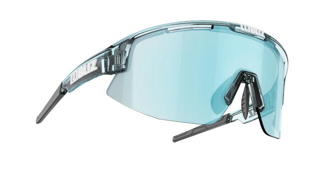 Bliz Matrix Transparent Blue // Smoke With Ice Blue Multi Lens 52004-31