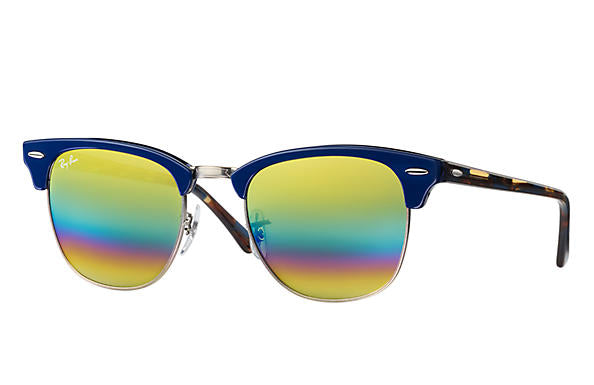 Ray-Ban Clubmaster Mineral Flash Lenses