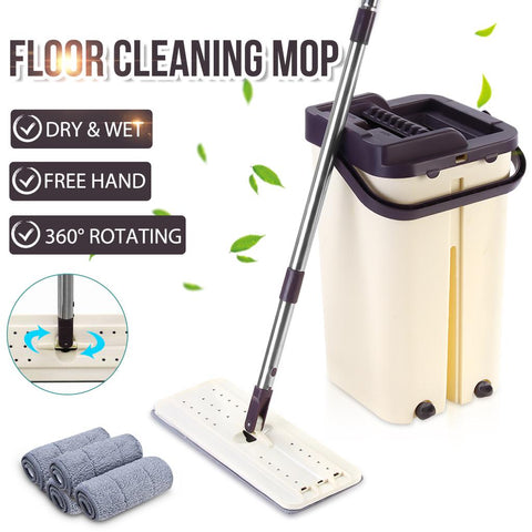 Flat Magic Squeezing Mop