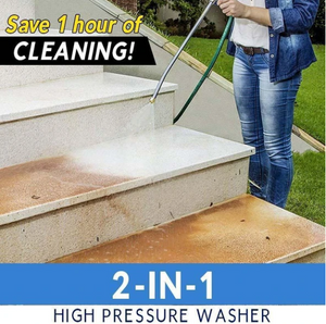 2-in-1 High Pressure Washer 2.0-Buy 2 Free Shipping