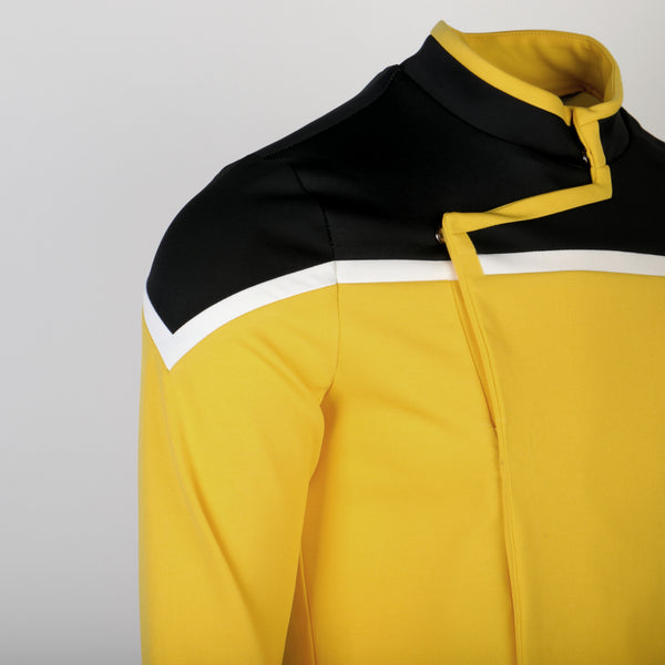 Star Trek Lower Decks Captain Freeman Red Yellow Blue Uniform Ensign Rutherford Cosplay Shirts