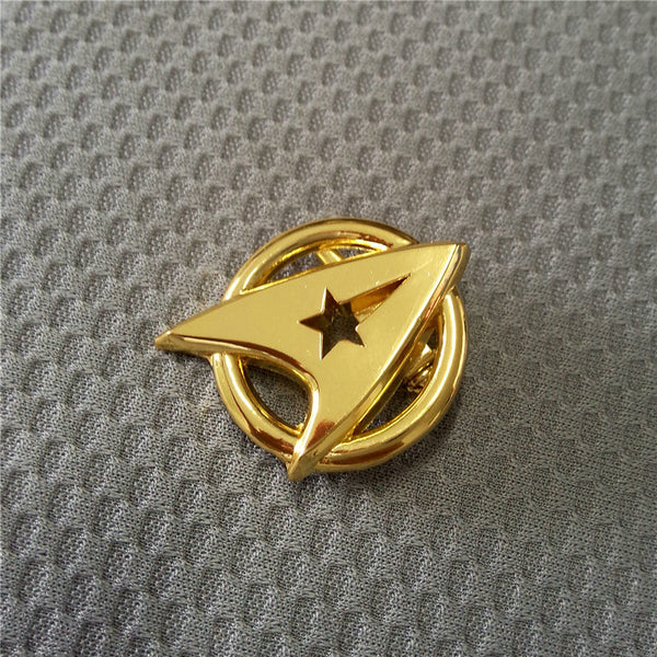 Star Trek Pin Badge The Next Generation Screen Accurate Communicator Insignia Gold Pin Badge Brooch