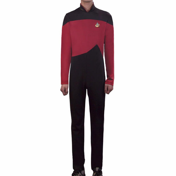 New Arrival Star Trek Cosplay Costumes Jumpsuit and Free Badge Halloween stage Clothes Carnival Christmas Gift Adult Uniforms - BFJ Cosmart