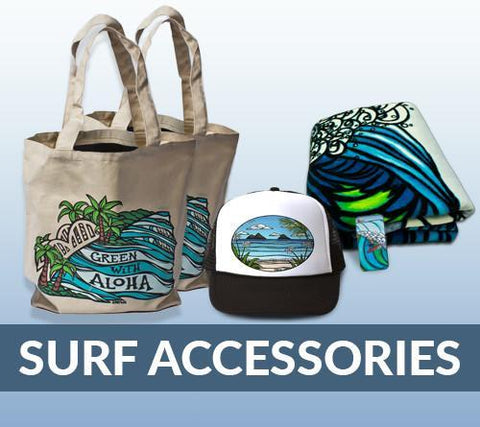 Popular Surf Apparel and Merchandise!